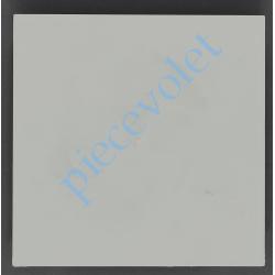 6D4.3002/20 Embout de Coffre Modulo Alu de 150 Pan Droit en Abs Coloris Blanc
