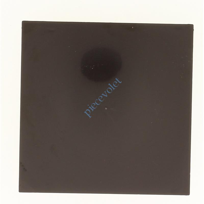 6D4.3003/40 Embout de Coffre Modulo Alu de 180 Pan Droit en Abs Coloris Marron