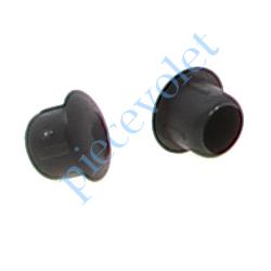 7012-80 Bouchons Pvc ø 10 mm Coloris Noir