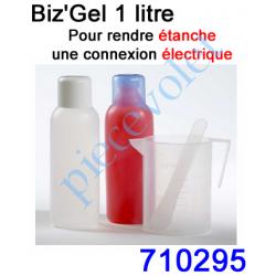 710295 Biz Gel d'Etanchéité  Electrique Constitué de 2 Flacons de 0,5l à Mélanger en Quantités égales