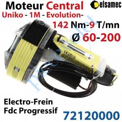 72120000 Moteur Central Elsamec Uniko 1M Evolution ø 60-200 mm 142/9 Avec Electro-Frein FdC à Réglage Progressif