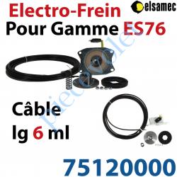 75120000 Electro-Frein pour Moteurs Elsamec de la Gamme ES 76 Avec Câble Lg 6,00m