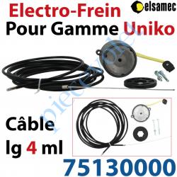 75130000 Electro-Frein pour Moteurs Elsamec de la Gamme Uniko Avec Câble Lg 4,00m