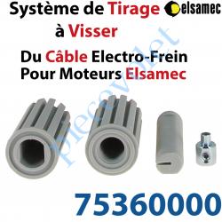 75360000 Système de Tirage (à Visser) du Câble d'Electro-Frein pour Moteurs Elsamec