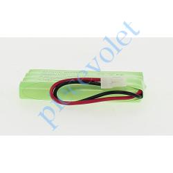 9001001 Batteries de Secours pour Axovia Dexxo Pro 9,6 v 800 mA