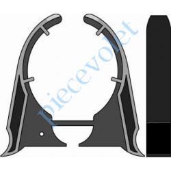 9001219 Clip d'Arrêt pour support Polyréno sauf 125 & 137 mm LT 50 Couple Maxi 25 Nm