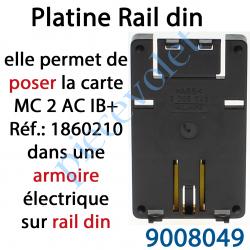 9008049 Platine pour Montage sur Rail Din des Motor Controller PCB
