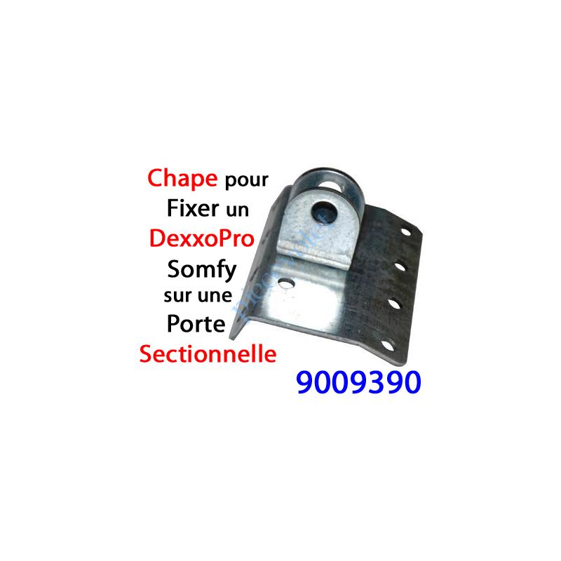 9009390 Chape pour Panneau Sectionnelle Spécifique pour Attacher le Bras du Dexxo Pro