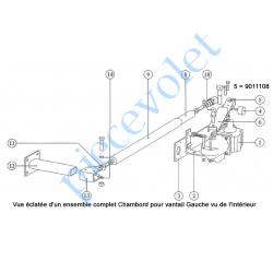9011108 Bielle de 280 mm pour Chambord