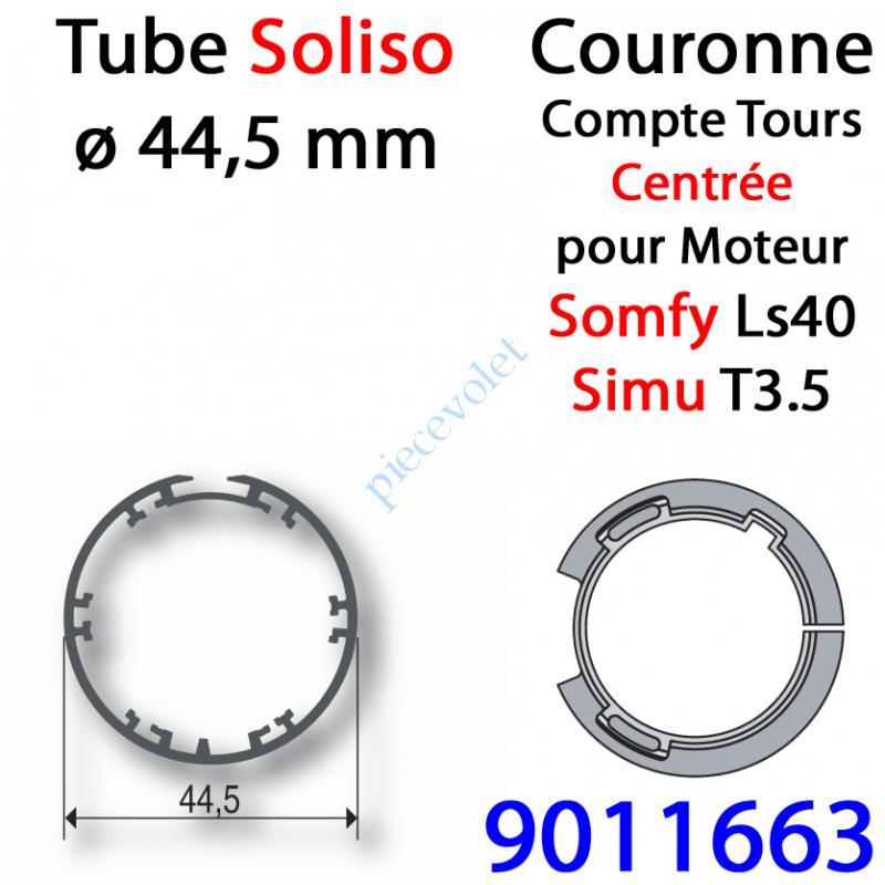 9011663 Couronne pour Moteur LS 40 ou T 3.5 dans Tube Soliso ø 44,5