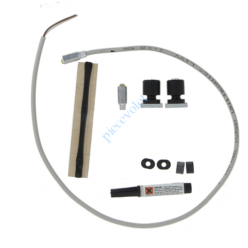 9013454 Kit Accessoires de Barre Palpeuse Résistive Filaire 16x27,3 mm (But, Bouch, Emb, Racc)