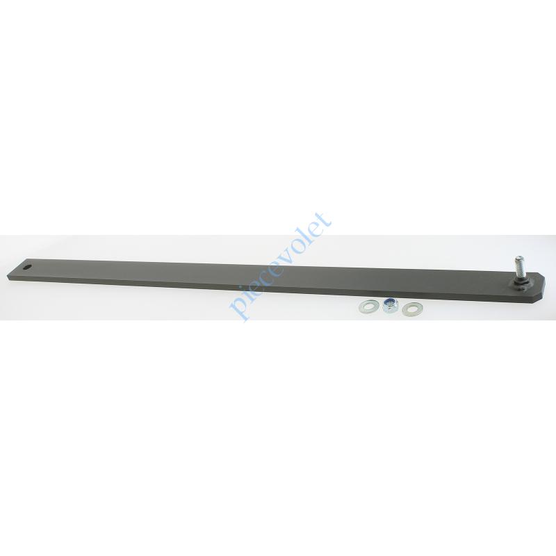 9013752 Bras Portail Long Acier Bronzal Entr'axes 820 mm (utiliser Pat Fix Port 9013753)