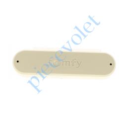 9013809 Capteur Vent Eolis 3D WireFree Rts Gris-Crème ± Ral 1013 Autonome avec 2 piles 1,5 v AAA