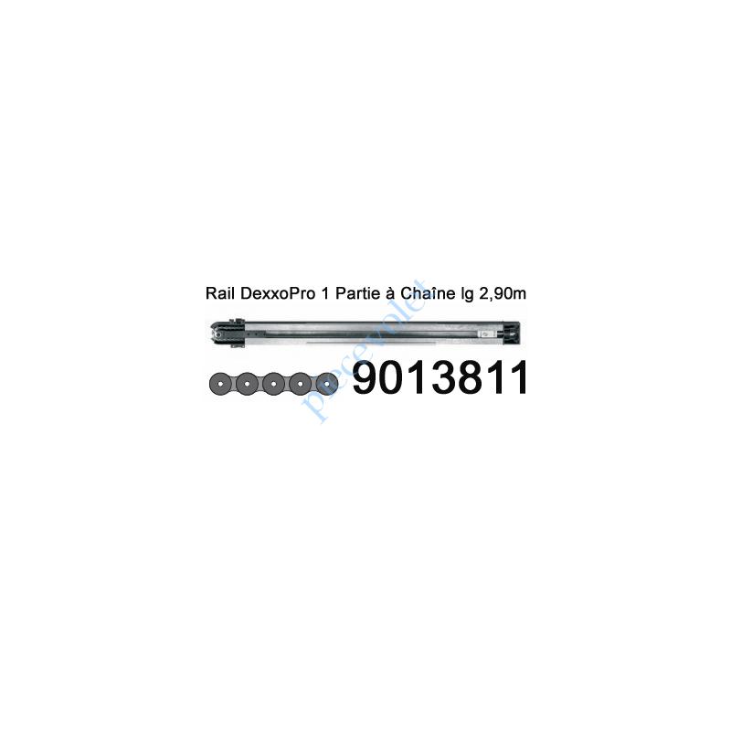 9013811 Rail Monobloc à Chaîne 30 000 Cycles lg 2,90m pour Dexxo Pro