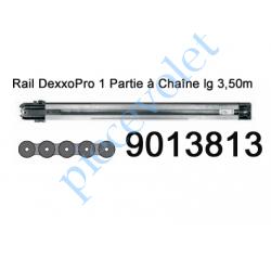 9013813 Rail Monobloc à Chaîne 30 000 Cycles lg 3,50m pour Dexxo Pro