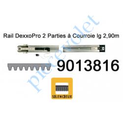 9013816 Rail en 2 Parties à Courroie 30 000 Cycles lg 2,90m pour Dexxo Pro