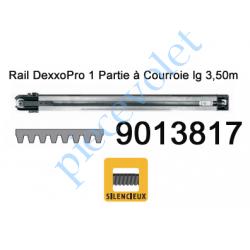 9013817 Rail Monobloc à Courroie 30 000 Cycles lg 3,50m pour Dexxo Pro