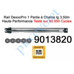 9013820 Rail Monobloc à Chaîne Haute Performance 90 000 Cycles lg 3,50m pour Dexxo Pro