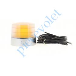 9014082 Feu Orange 24v Fixe Antenne 433MHz Intégrée Culot E14 25w Etanche ip54