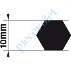 9014167 Adaptateur d'Axe Hexagonal de 10 mm pour Moteur de Bso J4