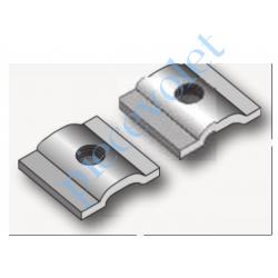 9014351 Cavaliers de Fixation pour Eolis 3D Wirefree sur Barre de Charge (Paire)