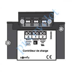 9014492 Controleur de Charge pour le Système d'Alimentation Solaire Somfy Solar Set