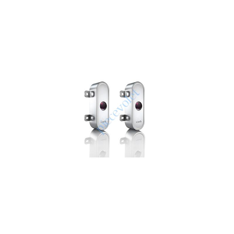 9015132 Coque en Aluminium Antivandale pour Cellules 9014994 ou 1841155 (la Paire)