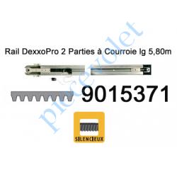 9015371 Rail Monobloc à Courroie 30 000 Cycles lg 5,80m (en 2 Parties) pour Dexxo Pro