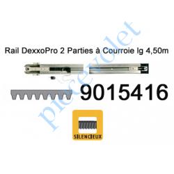 9015416 Rail Monobloc à Courroie 30 000 Cycles lg 4,50m (en 2 Parties) pour Dexxo Pro