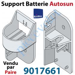 9017661 Support pour Fixation de la Batterie AutoSun 1 ou 2 Avec Coque en Aluminium (Paire)