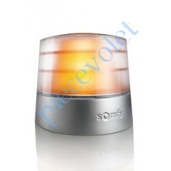 9017842 Feu Orange Master Pro 24v Fixe Sans Antenne Intégrée à Led 3,5w Etanche ip54