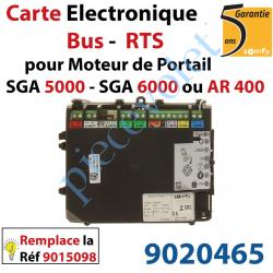 9020465 Nouvelle Carte Electronique Bus Rts pour Moteur de Portail Ouvrant à la Française Somfy SGA 5000 SGA 6000 ou AR 400