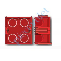 9128765 Boîtier Encastrement Maçon Hexa profondeur 40 mm à vis