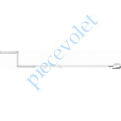 9129671 Manivelle avec crochet, de lg 1250 mm