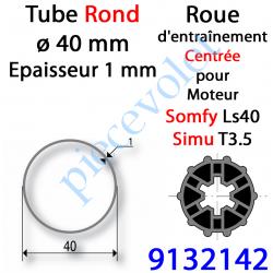 9132142 Roue pour Moteur LS 40 ou T 3.5 dans Tube ø 40 x 1