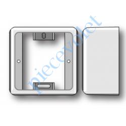 9154122 Boîtier de Montage en Saillie de 43,5 mm Coloris Blanc pour Récepteur Centralis