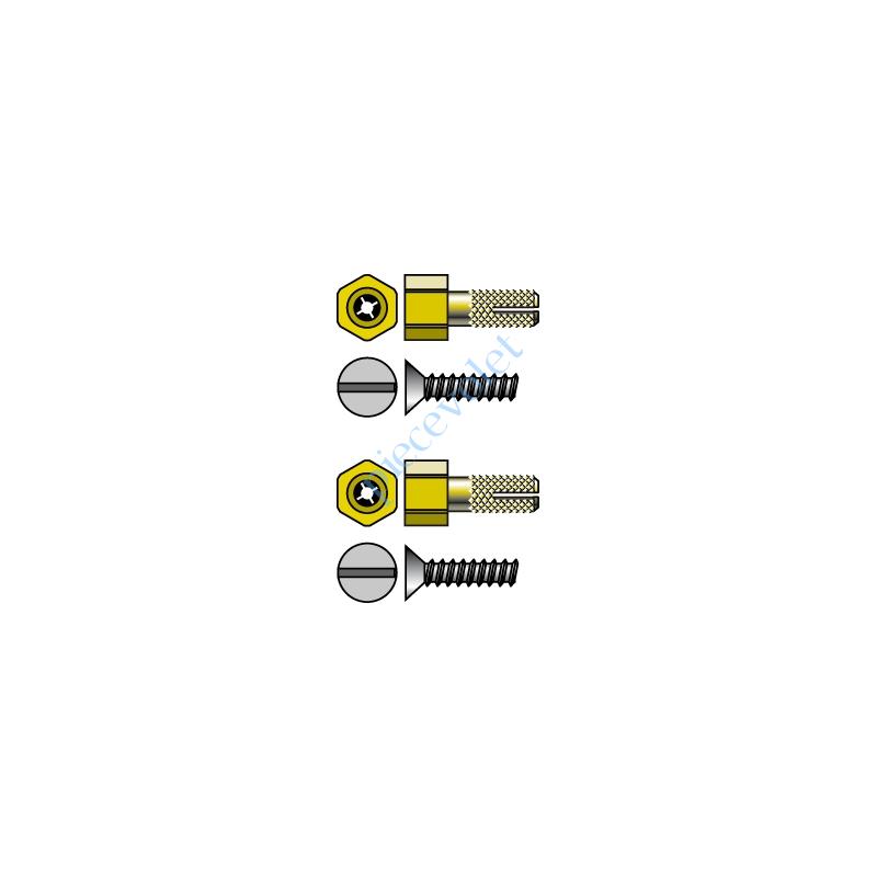 9410699 Pion Cheville de Fixation LT 50 Csi dans Modulo Couple Maxi 50 Nm