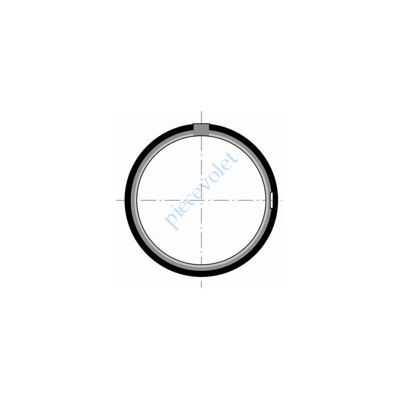 9420342 Couronne pour LT 60, Tube ø 70 1,5 & 2 mm