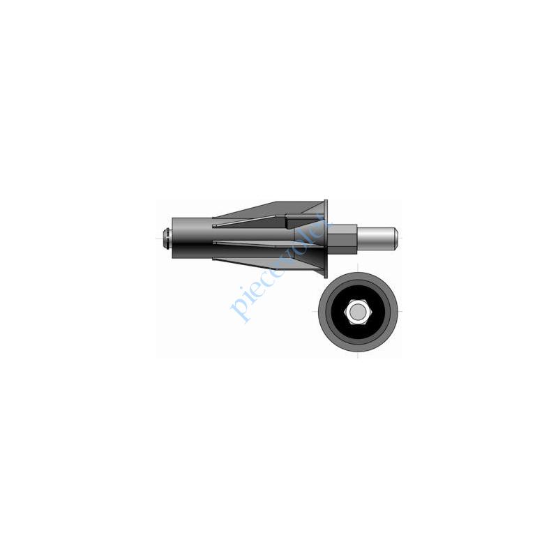 9420802 Embout Réglable avec Tourillon ø 14 Couple Maxi 20 Nm à Associer av Roues & Cour