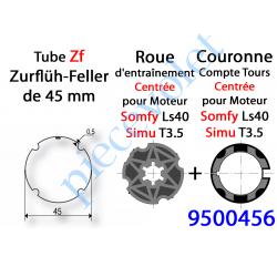 9500456 Jeu d'Adaptation pour Moteur LS 40 ou T 3.5 dans Tube Zf 45 5/10