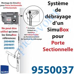 9550037 Kit de 10 m de Chaîne Maillons Spéciaux pour Simubox