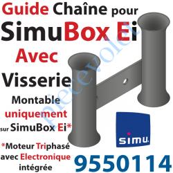 9550114 Guide Chaîne Avec Vis pour SimuBox Version Ei