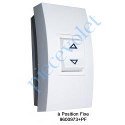 9600973+PF Inverseur Apr-Apem à Position Fixe avec Socle Réduit pour Pose en Applique
