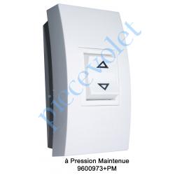 9600973+PM Inverseur Apr-Apem à Position Momentanée avec Socle Réduit pour Pose en Applique