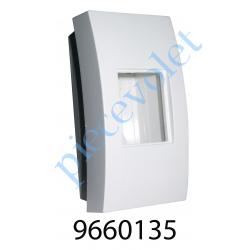 9660135 Boîtier de Montage en Saillie Apem Blanc