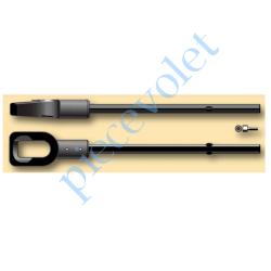 9685114 Anneau de Sortie Hexa 7 lg 60 mm pour Moteur Csi Avec Rondelle et Vis