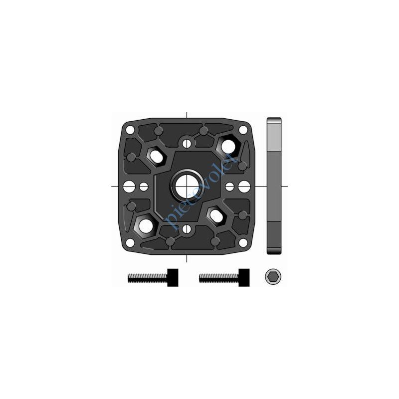 9910040 Support Csi Entr'axes Trd 44 M6, 48 M6 & 60 mm M8 Sans Pion Cple Max 120 Nm