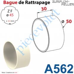 A562 Bague de Rattrapage pour Tube Zf 45