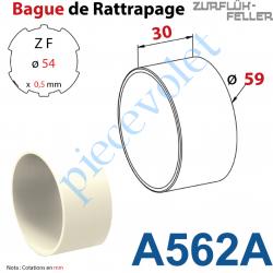 A562A Bague de Rattrapage pour Tube Zf 54