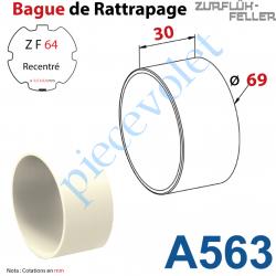 A563 Bague de Rattrapage pour Tube Zf 64